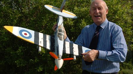 Ken Blowers had a life-long interest in aviation. Picture: CLIFFORD HICKS