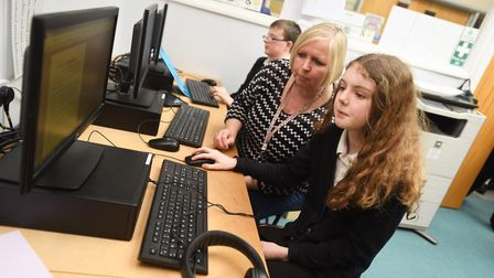 Stone Lodge Academy has earned a 'good' Ofsted rating. Picture: GREGG BROWN