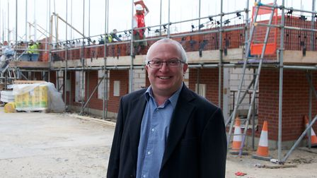 David Ellesmere hopes the award will speed up work on the Garden Suburb. Picture: IPSWICH BOROUGH CO