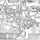 A map of Ipswich in 1610. Picture: JOHN NORMAN