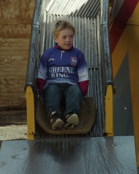 Do you remember speeding down this slide as a youngster?