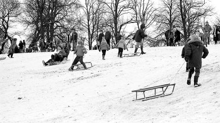 Were you among the crowds at Christchurch Park during the snow in February 1983?