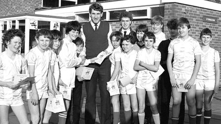 Terry Butcher visiting Westbourne School to present awards to pupils