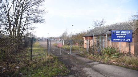 The site where the Bankside development could be built. Picture: GREGG BROWN