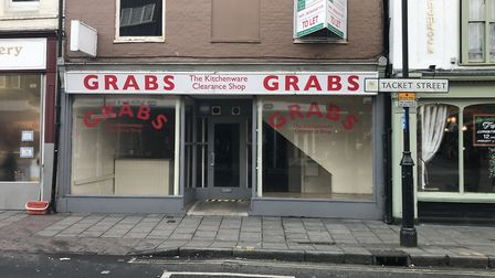 A planning application has gone in for it to become a restaurant at 4 Tacket Street