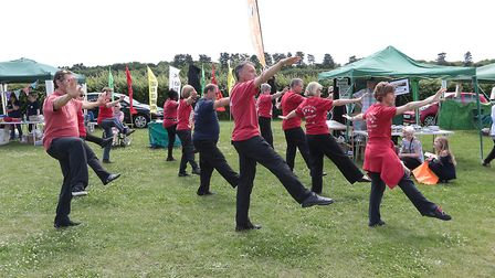 The Taoiste Tai Chi Society put on a great display at the Kesgrave Big Lunch Fun Day in 2017. Pictur