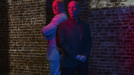 Andy Bell and Vince Clarke of Erasure. Picture: DORON GILD
