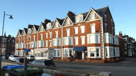 The Marlborough Hotel, Sea Road, Felixstowe, as it looks now. Picture: DAVID KINDRED