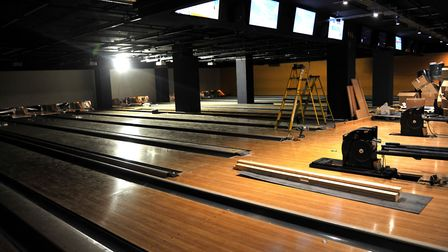 Superbowl UK will feature 12 ten-pin bowling alleys. Picture: SARAH LUCY BROWN