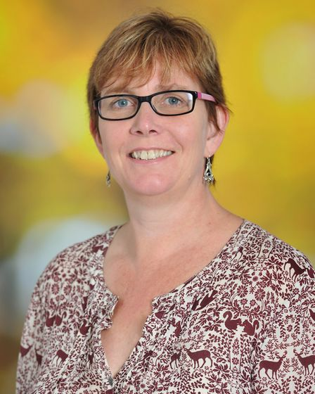 University of Suffolk's head of nursing and midwifery, Sam Chenery-Morris. Picture: UNIVERSITY OF SU