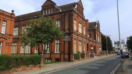 Children's Easter art activities will be hosted at Ipswich Museum, pictured, and also at Christchurc