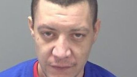Frank Austin, who has been jailed for seven years after being caught with a stash of crack cocaine a