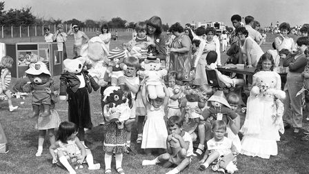 Were you one of the younger guests who entered their teddy into a contest at Whitton's community day