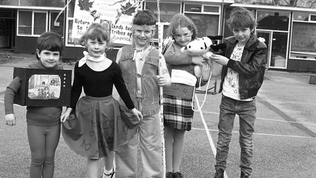 Pupils St Pancras School celebrates its 25th year. Picture: IVAN SMITH