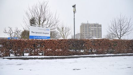 Ipswich Hospital. Picture: SARAH LUCY BROWN