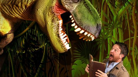 So You Think You Know About Dinosaurs with Dr Ben Garrod. Picture: CONTRIBUTED