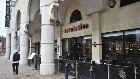 The attack happened after the pair had been out at Revolution in Ipswich. Picture: LUCY TAYLOR