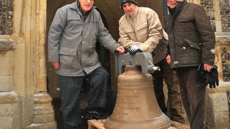 St Margarets Bells have returned to their home