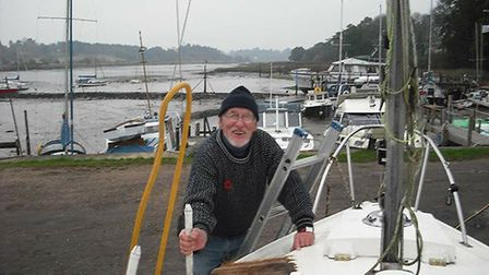 Dick Batley had a passion for boats and the open water. Picture: MARY WHITMORE