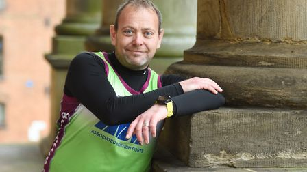 Andy Miley is taking on the Manchester Marathon, then the Southampton Marathhon in under a fortnight