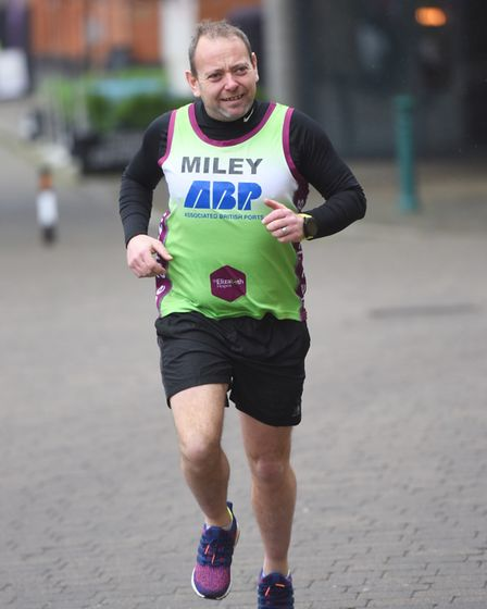 Andy Miley is running two marathons in a fortnight to raise money for St Elizabeth Hospice. Picture: