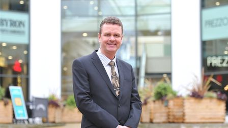 Allan Hassell is the new manager of the Buttermarket Shopping Centre in Ipswich. Picture: SARAH LUC