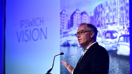 Ipswich Central chief executive Paul Clement said the town's Vision project is turning the town arou