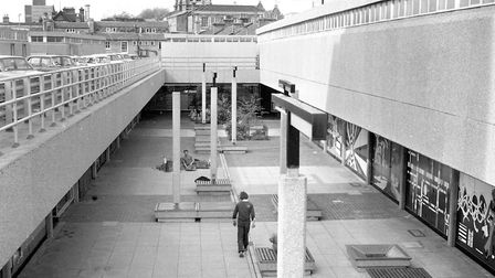 Carr Precinct, Ipswich, in September 1972. Few of the units were ever filled and the site was redeve