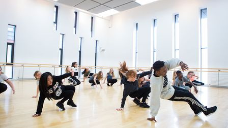 Take part in musical theatre dance classes at DanceEast. Picture: MIKE KWASNIAK