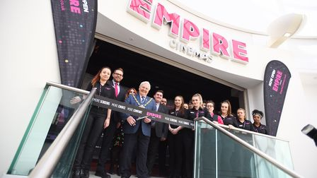 Official opening of the Empire cinema in Ipswich. Picture: GREGG BROWN
