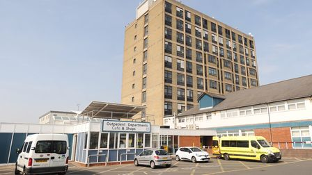 Ipswich Hospital. Picture: GREGG BROWN