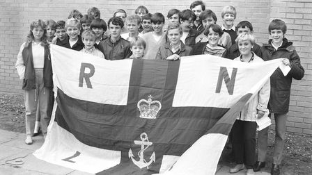 Royal National Lifeboat Institution attended the Gainsborough Gala Day in 1984. Picture: PAUL NIXON