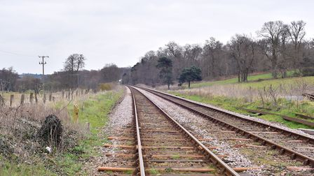 The railway crossing at Little Bealings is one of the proposed routes for a northern bypass. Picture