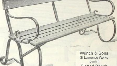 A Winch & Sons bench. Picture: Permission of William Pipe