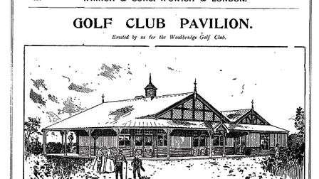 The Wrinch & Sons pavilion for Woodbridge Golf Club. Picture: Permission of William Pipe