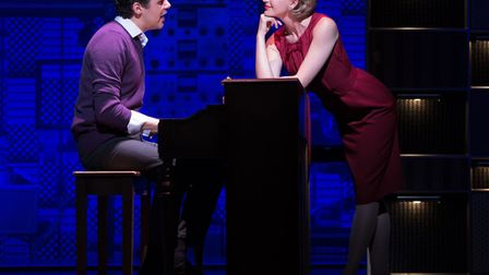 Beautiful - The Carole King Musical. Kane Oliver Parry as Gerry Goffin and Amy Ellen Richardson as C
