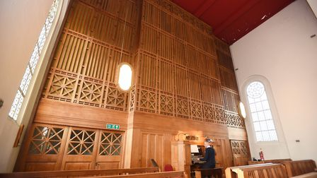 The Royal Hospital School in Holbrook is hosting a tea dance with organ music. Picture: GREGG BROWN
