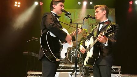 The Everly Brothers are celebrated in Walk Right Back, at the Spa Pavilion in Felixstowe on April 21