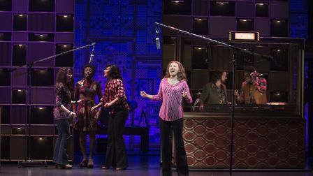 Beautiful - The Carole King Musical. Bronte Barbe as Carole King. Picture: CRAIG SUGDEN