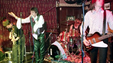 The Railway pub hosted Eddie and the Hot Rods. Picture: DAVID KINDRED
