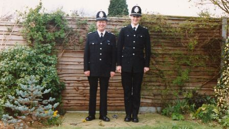 Sgt John Hawkes followed his father into the force � working alongside him for two weeks before his