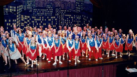 The Dixie Time number during a previous Ipswich Gang Show. Picture: IPSWICH GANG SHOW