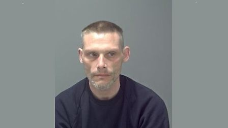 Michael Harvey, who was described as a persistent burglar in court, has been jailed. Picture: SUFFOL