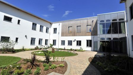 The Woodlands mental health unit in Ipswich, where Lark Ward is based. Picture: LUCY TAYLOR