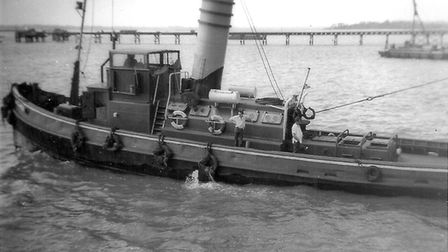 The tug Agama. Picture: CONTRIBUTED BY BRIAN NICHOLS