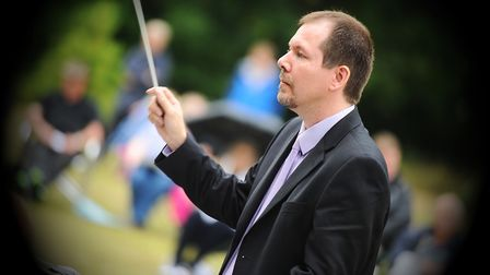Brass on the Grass at Christchurch Park. Picture: GREGG BROWN
