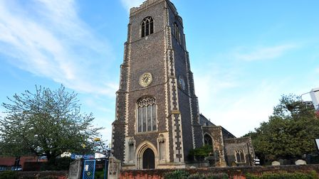 St Peter's by the Waterfront in Ipswich is the venue for a swing concert. Picture: SARAH LUCY BROWN