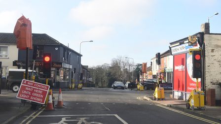 Spring Road in Ipswich is one of the key routes into Ipswich town centre. Picture: LUCY TAYLOR