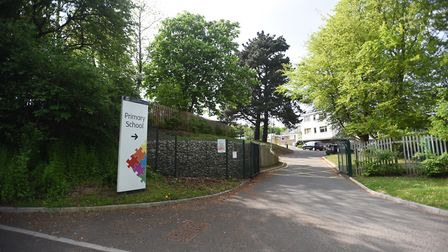 The Bridge School in Ipswich, which has gone from being rated 'good' to 'inadequate' by Ofsted. Pict