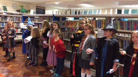 Youngsters enjoying a previous event organised by Ipswich Children's Book Group together with Chantr